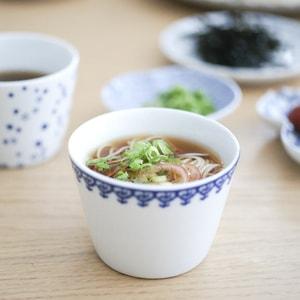 お皿/印判そば猪口 瓔珞/東屋_Image_1