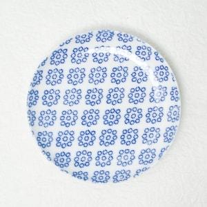 お皿/印判小皿 九曜/東屋