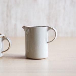 調味料入れ/モデラート クリーマー グレー/ceramic japan