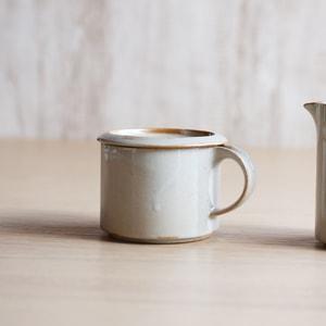 調味料入れ/モデラート シュガー グレー/ceramic japan