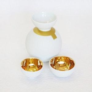 Syukidaruma(Sake Cup Snowman)/ Gold Line_Image_1