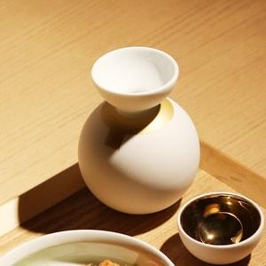 酒器/酒器だるま マフラー 金彩/ceramic japan_Image_2