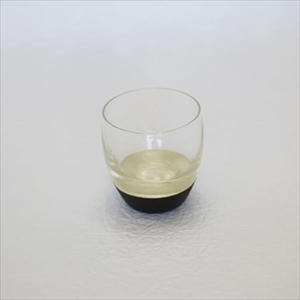 酒器/うるしの酒盃 丸型 銀黒/鳥羽漆芸_Image_1