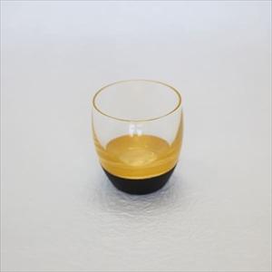 酒器/うるしの酒盃 丸型 金黒/鳥羽漆芸_Image_1