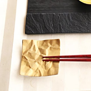 Chopstick Rest/ Gold/ CRINKLE Series_Image_2