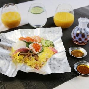ちらし寿司パーティーセット 4名用 (すずがみ さみだれ/醤油差し/グラス)_Image_2