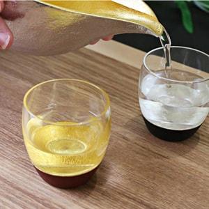 酒器/うるしの酒盃 丸型(金赤ペアセット) 2個入り/鳥羽漆芸_Image_2