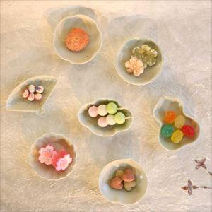 【セット】豆皿 土灰 5枚組(化粧箱入)/東屋_Image_2