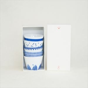 [Set of 5] [Exclusive box] Inban-Soba choko / Azmaya_Image_3