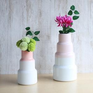 フラワーベース/S&Bシリーズ 花瓶 Vase High ライトピンク/1616 arita japan_Image_2