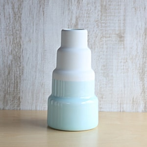 Flower Vase/ L/ Light Blue/ S&B Series/ 1616 arita japan