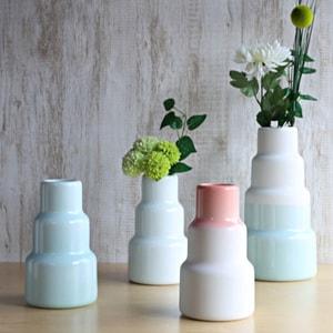 フラワーベース/S&Bシリーズ 花瓶 Vase High ライトブルー/1616 arita japan_Image_2