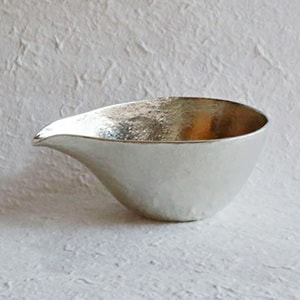 [Set][Exclusive box] 1 Katakuchi L Silver + 2 Guinomi (Gold & Silver) _Image_1