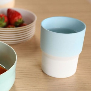 [Set of 2] [Exclusive Box] / Mug / Pink & Light blue / S&B series / 1616 arita japan_Image_2