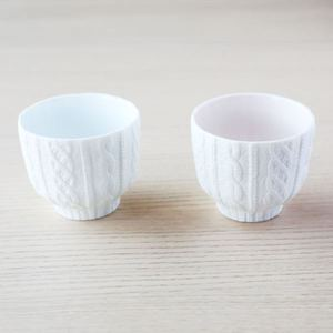 Paulownia box / For pair teacups / Trace Face series / CEMENT PRODUCE DESIGN_Image_2