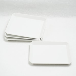 [Set] [Exclusive box] Square Plate x 4 / W165 (x4) / 1616 arita japan_Image_1
