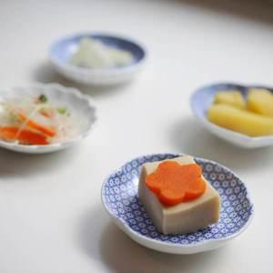 【セット】印判豆皿 5枚組丸型(化粧箱入)/東屋_Image_2