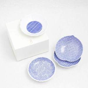 [A set of 4 plates] [Exclusive box] Round inban-mamezara / Azmaya_Image_3