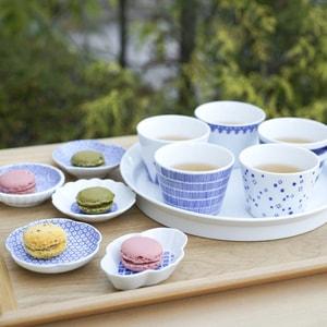 【セット】印判豆皿 3枚組丸型(化粧箱入)/東屋_Image_1
