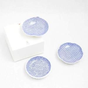 【セット】印判豆皿 3枚組丸型(化粧箱入)/東屋_Image_3