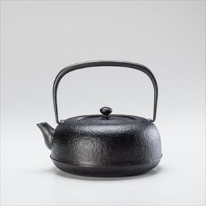 水沢姥口 /鋳鉄油焼き南部鉄瓶 1.5L/大/東屋