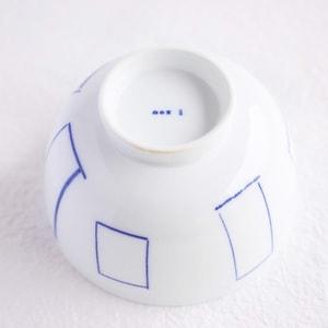 Flower rice bowl/ Madobe/ Large/ Azmaya_Image_1