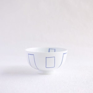 Flower rice bowl/ Madobe/ Small/ Azmaya