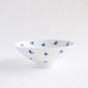 Flat rice bowl/ White Mat ST-16/ Hakusan Toki