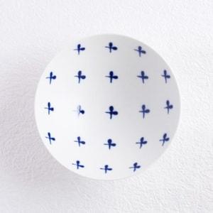 Flat rice bowl / White Mat ST-16 / Hakusan Toki_Image_1