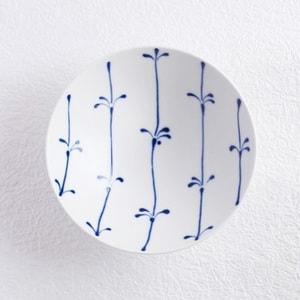 Flat rice bowl/ White Mat ST-17/ Hakusan Toki_Image_1