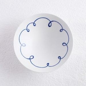 Flat rice bowl/ White Mat ST-10/ Hakusan Toki_Image_1