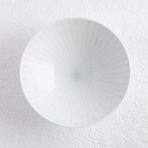 Flat rice bowl/ White Mat S-1/ Hakusan Toki_Image_1