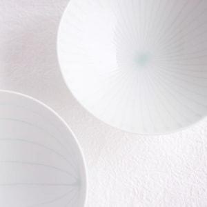 Flat rice bowl/ White Mat S-1/ Hakusan Toki_Image_2
