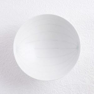 Flat rice bowl/ White Mat S-15/ Hakusan Toki_Image_1