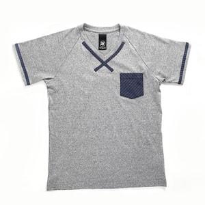 【クリエイターズ】伝統工芸 meets Tシャツ(Classic・グレー)_Image_1