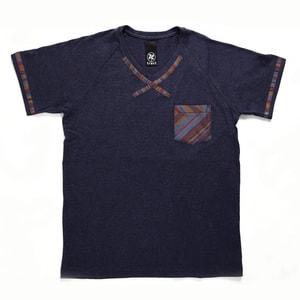 【クリエイターズ】伝統工芸 meets Tシャツ(Classic・ネイビー)_Image_1