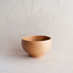 Meibokuwan / Wooden soup bowl / Large / Sonobe