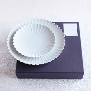 [Set] [Exclusive box] Palace Plate x 2 / φ220 (x1) + φ160 (x1) / 1616 arita japan