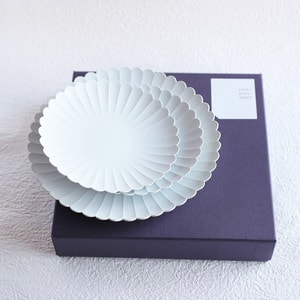 [Set] [Exclusive box] Palace Plate x 3 /φ220 (x1) + φ160 (x2) / 1616 arita japan