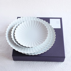 [Set] [Exclusive box] Palace Plate x 4 / φ220 (x2) + φ160 (x2) / 1616 arita japan