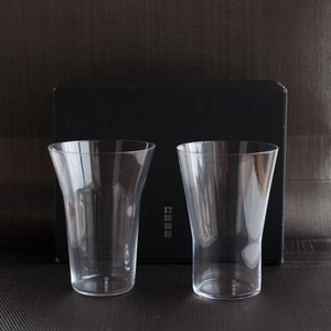 [Set] [Exclusive box] Pair Eternal Glasses / MIZU / Wired Beans
