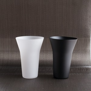 [Set]ETERNAL GLASS / Tumbler / Frost and Black / Exclusive box / WIRED BEANS_Image_1