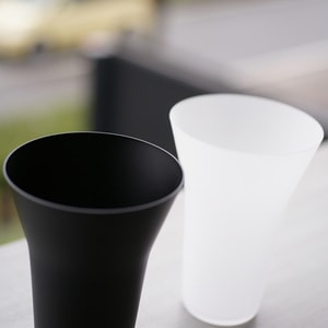 [Set]ETERNAL GLASS / Tumbler / Frost and Black / Exclusive box / WIRED BEANS_Image_2