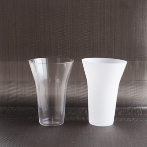 [Set] [Wooden box] Pair Eternal Glasses / Tumbler / Transparent & Frosted / Wired Beans_Image_1