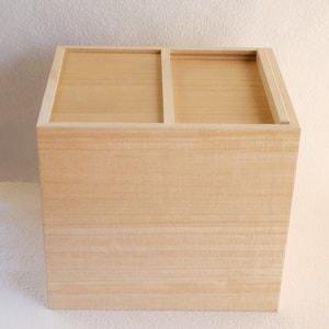 Wooden rice container / 10kg / Azmaya_Image_1
