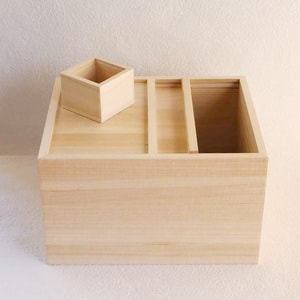 Wooden rice container / 5kg / Azmaya