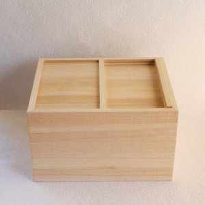 Wooden rice container / 5kg / Azmaya_Image_1