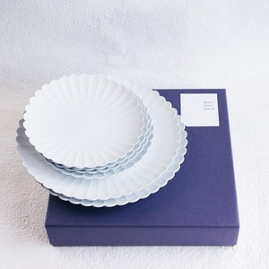 [Set] [Exclusive box] Palace Plate x 6 /φ220 (x2) + φ160 (x4) / 1616 arita japan