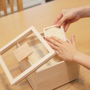 Rice storage box / 3kg / Masuda Kiribako_Image_2