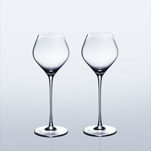 [Set] [Wooden box] Pair Eternal Glasses / Sake glass / KARAKUCHI / Wired Beans